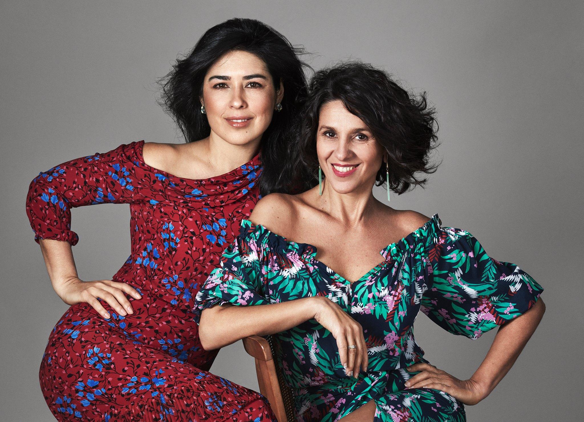 Mariela Franganillo and Carla Marano