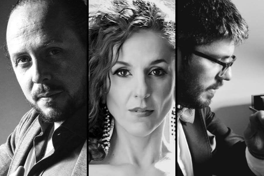 Matias Facio, Carla Marano, and Pablo Estigarribia